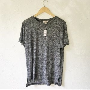 NWT Loft • Heathered Tee